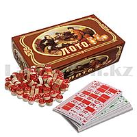 """Настольная игра """"Лото"""" 8812 в картонной коробке 18*11 см"""