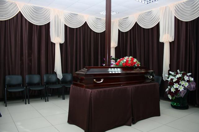 зал прощания с умершим цена
