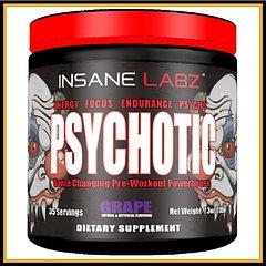 Insane Labs Psychotic 35 порций (фруктовый пунш)