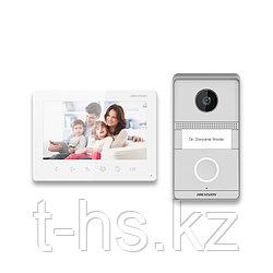"""Hikvision DS-KIS101-P/Surface Комплект DS-KV1101-ME2/Surface + DS-KH1200 (монитор 7"""")"""