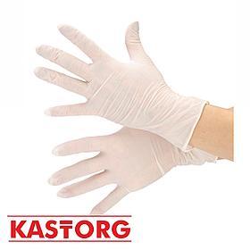 Латексные одноразовые перчатки Опудренные/Неопудренные