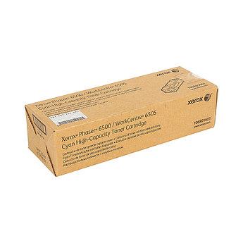 Тонер-картридж повышенной ёмкости Xerox 106R01601 (голубой)