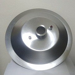 Крышка конусная на котел 50л, с клампом 3 дюйма