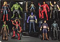 Мстители - набор из 10 фигурок с аксессуарами