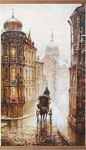 Электрообогреватель-картина гибкий настенный «Доброе тепло» 500W TeploMaxx (Старая Прага)