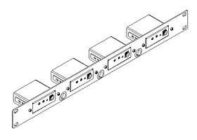 Адаптер Kramer RK-4PT 1U для 19'' стойки для 4 приборов PicoTools