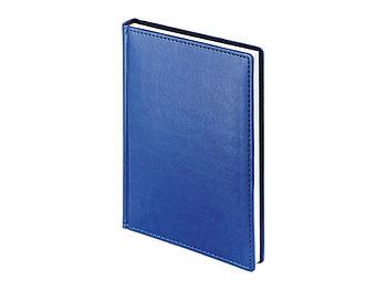 Ежедневник А5 датированный Velvet 2022, синий