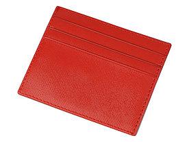Чехол для карточек и купюр Weekend из ПВХ, красный