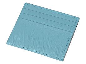 Чехол для карточек и купюр Weekend из ПВХ, голубой