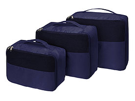 Комплект чехлов для путешествий Easy Traveller, темно-синий