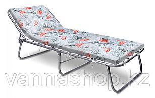 Кровать раскладная с мягким гипоаллергенным матрасом