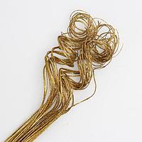 Эко-декор тинг золотистый 'Блистай', 80 см, 50 шт