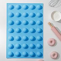 Форма для выпечки 'Шарики', 56x36,5x3 см, 35 ячеек (d5 см), цвет МИКС