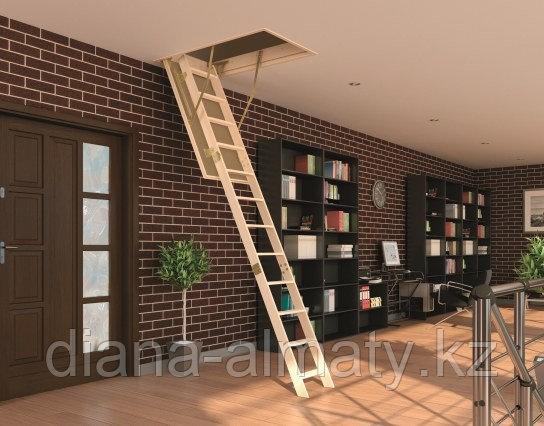 Чердачная лестница FAKRO 70х120х280 SMART     тел.   Whats Upp. 87075705151