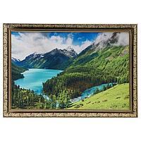 Гобеленовая картина 'Горное озеро' 44*64 см