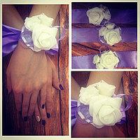 Бутоньерки для подружек невесть , фото 1