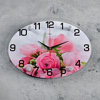 Часы настенные, серия Цветы, 'Нежность', 24х34 см