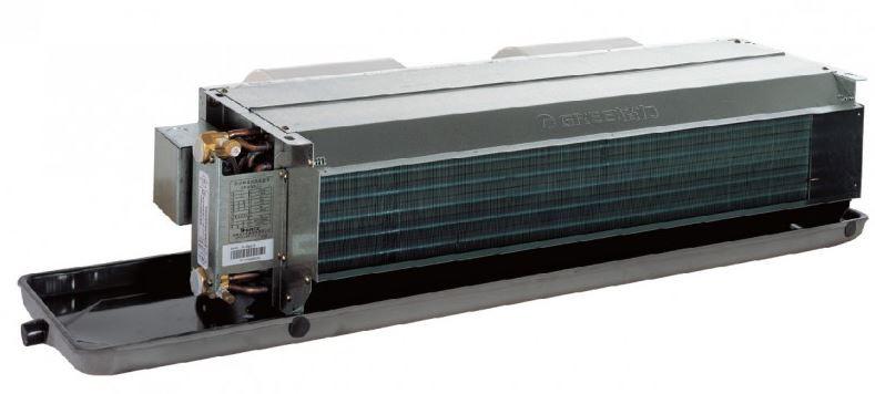 Канальный бескорпусный фанкойл FP-102WAH-K (HP)