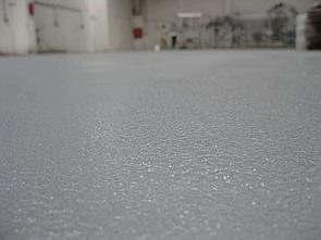 Полиуретановое покрытие с песком
