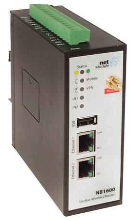 NetModule NB 1600-UW (UMTS и WLAN роутер)