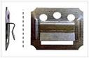 Кляймер для вагонки (липа, сосна) № 4,5,6