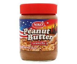 Арахисовая паста Peanut Butter GINA (красная) 350гр