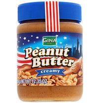 Арахисовая паста Peanut Butter GINA (синяя) 350гр