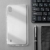 Чехол Innovation, для Samsung A10, силиконовый, прозрачный