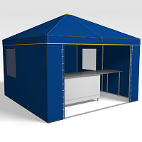 Торговые палатки, тенты и комплектующие