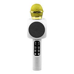 Микрофон караоке Bluetooth WS-1816, White