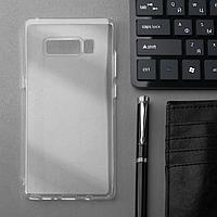 Чехол Innovation, для Samsung Note 8, силиконовый, прозрачный