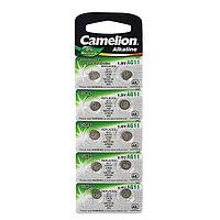 Батарейка алкалиновая Camelion Mercury Free, AG11 (362, LR721)-10BL, 1.5В, блистер, 10 шт.