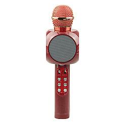Микрофон караоке Bluetooth WS-1816, Red