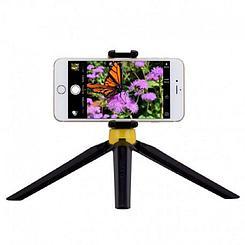 Трипод Mmomax TRS2Y Selfe Tripood Stable Handy Black/Yellow