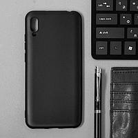 Чехол Innovation, для Huawei Honor 8A/Y6 2019, силиконовый, матовый, черный