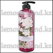 Гель для душа/пена для ванны/жидкое мыло YFum с экстрактом цветов гардении