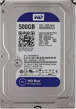"Жесткий диск HDD 500 Gb Western Digital (WD5000AZLX), 3.5"", 32Mb, SATA III"