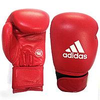 Кожаные боксерские перчатки adidas (aiba) 12OZ