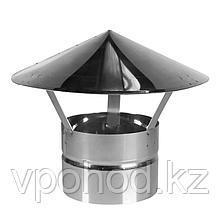 Зонт на трубу для печи пошехонка средняя