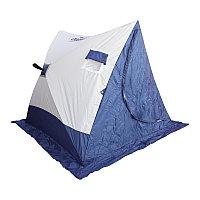 Палатка зимняя Следопыт 2-скатная