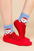 Тёплые шерстяные монгольские носки. Дед Мороз