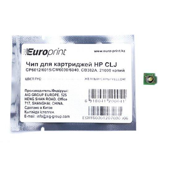 Картридж HP CB382A Желтый CP6015/CM6030/CM6040