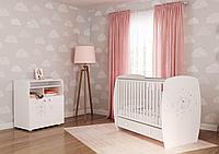 Кровать детская French 710 Teddy, белый (Polini kids, Россия)