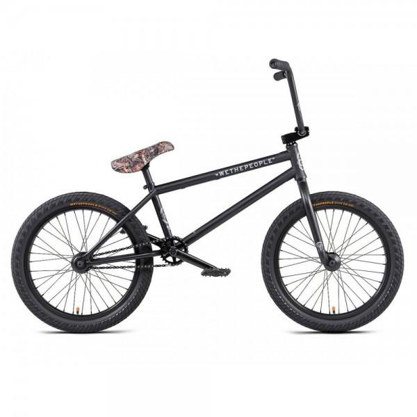 BMX велосипед Wethepeople Crysis 20.5 (2020) matt black