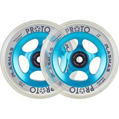 Комплект колёс Proto Plasma Pro Scooter Wheels 2-Pack 110mm Electric Blue