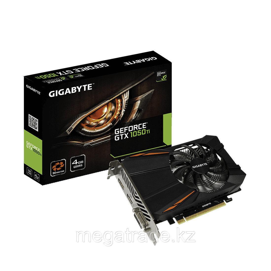 Видеокарта Gigabyte GTX 1050Ti, 4GB GDDR5 128-bit