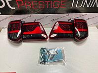 Задние фонари на Toyota Fortuner 2012-15 дизайн Land Cruiser (Красные), фото 1