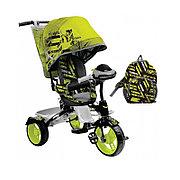 Детский трехколесный велосипед, Nika ВД5М/2S спортивный лимонный