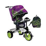 Детский трехколесный велосипед, Nika ВД5М/3S спортивный амарантовый