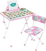 Детский стол и стул Ника с Забавными медвежатами КП2/ЗМ